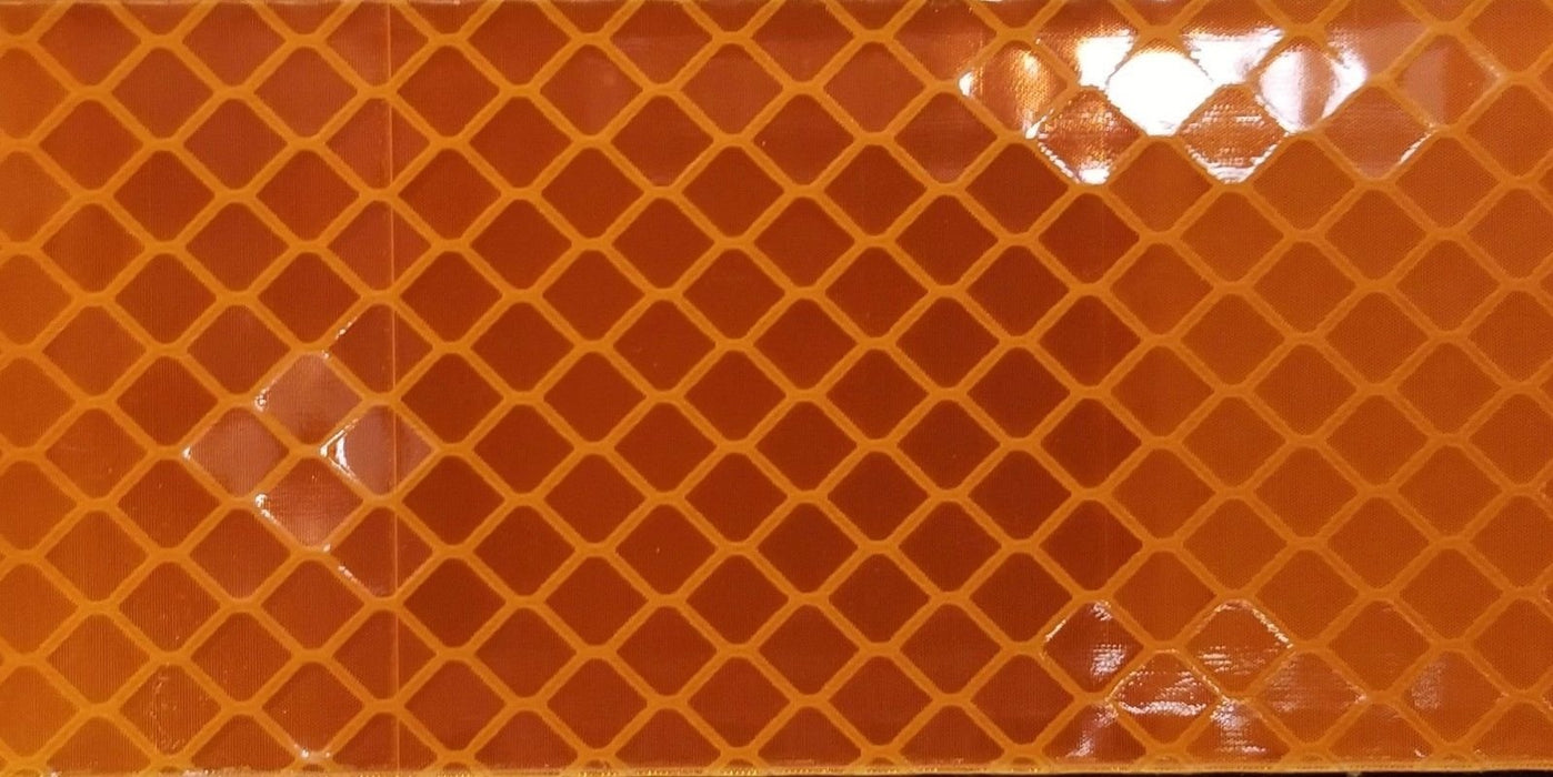 "Genuine USA Made Orafol 3"" x 150' Roll of 5900 Series Orange Reflective Tape"