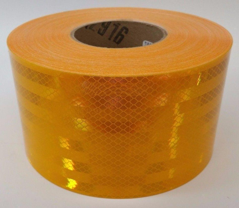 "3M 30928-30 4"" x 30' School Bus Yellow Tape Conspicuity Reflective Marking 983"