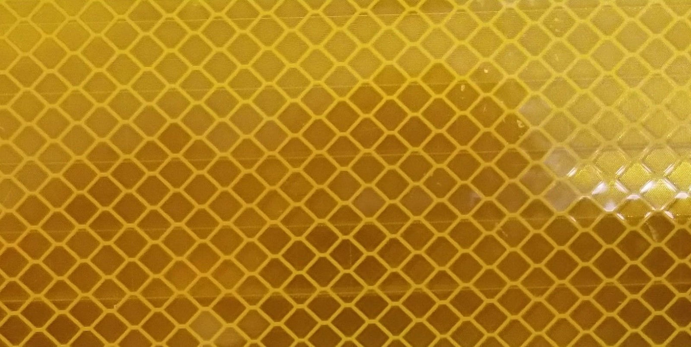 "3M 67885-30 2"" x 30' School Bus Yellow Tape Conspicuity Reflective Marking 983"