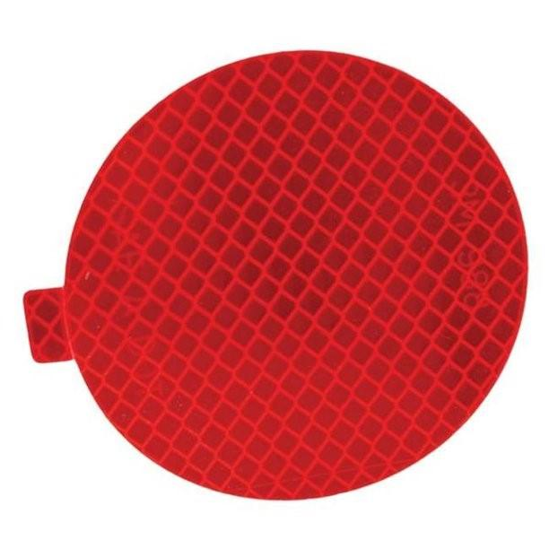 "3M 50 Pack of 22561 Diamond Grade 989-72 Series Red 3"" DOT SAE Reflectors"