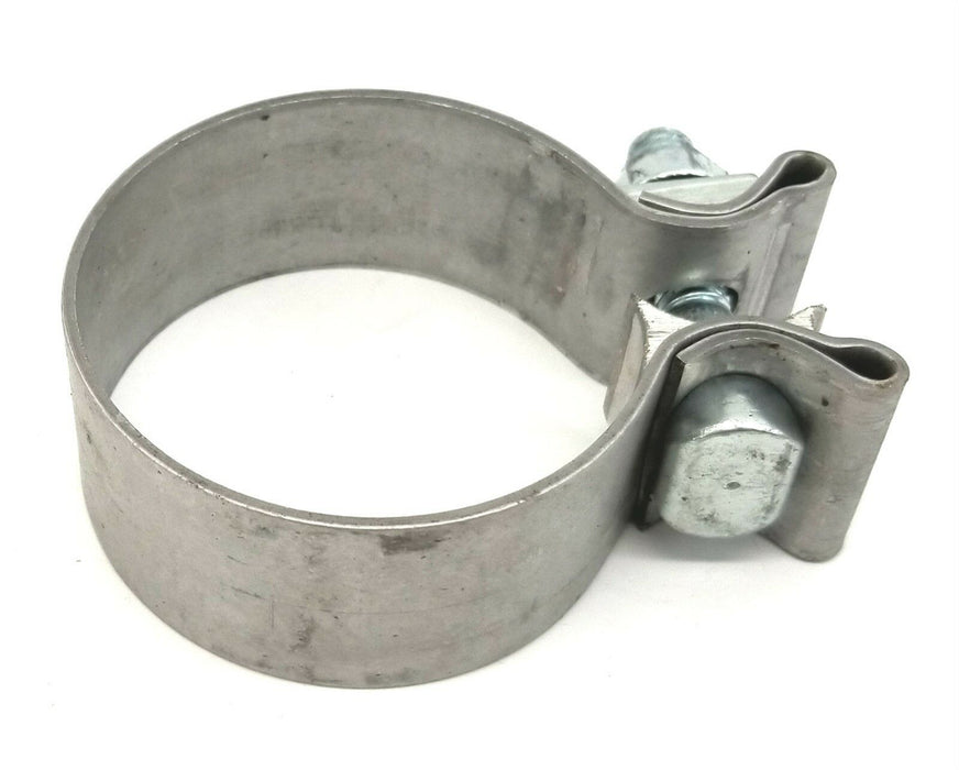 "MVP 2-1/4"" Aluminized Exhaust Pipe / Turbo Clamp -Replaces Accuseal - USA"