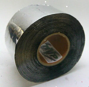 "MVP Aluminum Foil Tape with Butyl Rubber Backing 4"" x 50' Roll - 50 Mil Thick"