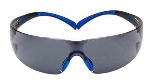 3M SecureFit Safety Glasses SF402SGAF-BLU Blue/Gray Gray Scotchgard Anti-fog Lens