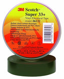 "3M 06132 Super 33+ Electrical Tape 3/4"" x 66' - Made in the USA"