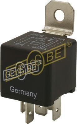 GEBE 990041 5 Terminal Changeover Mini Relay 12V 30/40A - Made in Germany