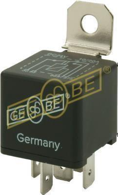 GEBE 990091 5 Terminal Changeover Mini Relay 24V 10/20A - German Made