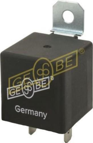 GEBE 990271 12V 2/4 x 21W Flasher Relay 3 Terminal - Made in Germany