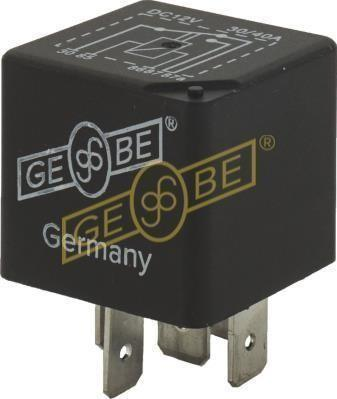 GEBE 990601 5 Terminal Changeover Sealed Mini Relay 12V 30/40A - German Made