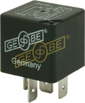 GEBE 990621 5 Terminal Changeover Mini Relay with Diode 12V 30/40A - German Made