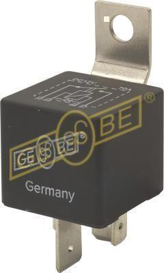 GEBE 990821 4 Terminal Heavy Duty SPST NO Relay with Diode 12V 70A - German Made
