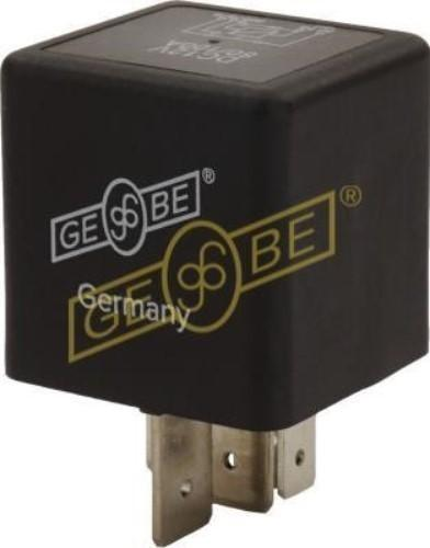 GEBE 990931 5 Terminal Heavy Duty Changeover Relay Diode 12V 80/100A - Germany