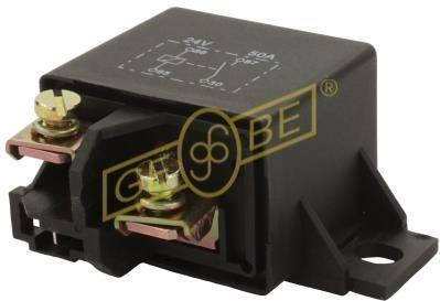 GEBE 990961 4 Terminal SPST NO Heavy Duty Relay 24V 50A - German Made