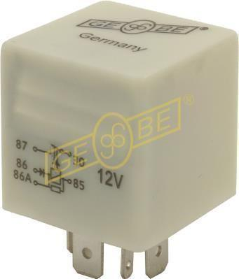 GEBE 991281 Fuel Pump Relay 90-03 VW Audi 165906381 - Made in Germany