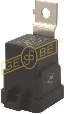 GEBE 993531 Skirted Relay 4 Terminal Pin SPST NO 12V 40 Resistor Made in Germany