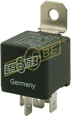 GEBE 990631 5 Terminal Changeover Mini Relay Resistor 24V 20/10A - German Made