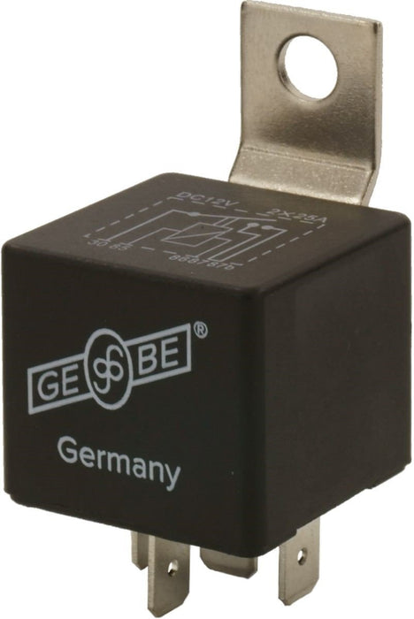 GEBE 992951 Mini Relay 12 Volts 40 Amps SPST Dual 87 Circuit - Made in Germany