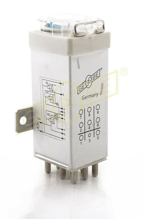 GEBE Overload Protection Relay for Mercedes W124 W202 300E 300CE 0005406745