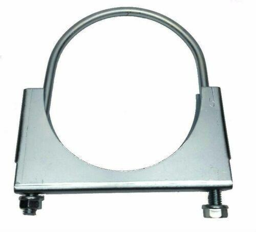 "MVP 5"" Guillotine Type Exhaust Clamp - Zinc Plated - JG50ZN"