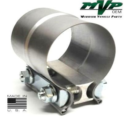 "MVP 2"" Aluminized Preformed Lap Joint Exhaust Clamp - JL20AA"