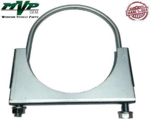 "MVP 6"" Saddle Type Round U-Bolt Exhaust Clamp - JSR60ZN"
