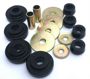 Energy Suspension 30.7001G Poly Peterbilt 359 Cat Radiator Support Bushing Set