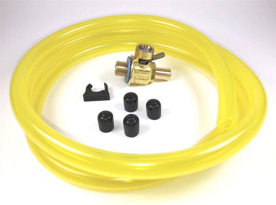 Fumoto F106N Oil Drain Valve with HD Professional 3' Hose Kit for Fumoto Long Nipple