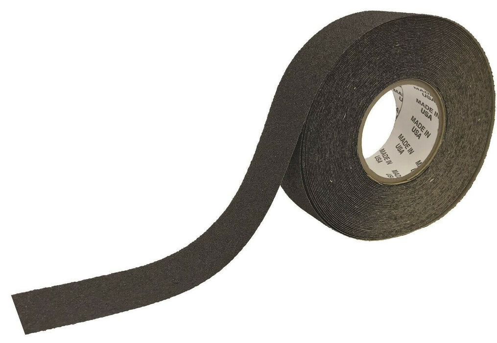 MVP High Quality 46 Grit Anti-Slip Grip Tape 2 x 60' Flat Black-Made in the USA