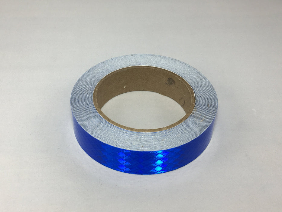 "Orafol 1"" x 30' Roll of 5900 Series Blue Reflective Tape - Genuine USA Made"