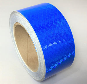 "Orafol 2"" x 30' Roll Blue Reflective Tape 5900 Series - Made in the USA"