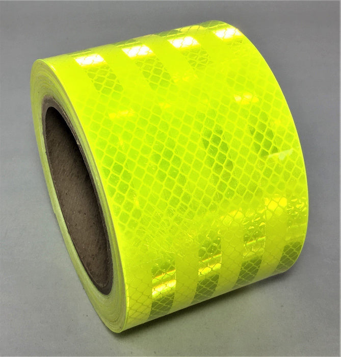 "3M 3"" x 30' Fluorescent Yellow-Green 983-23 Retro Reflective Marking Tape"