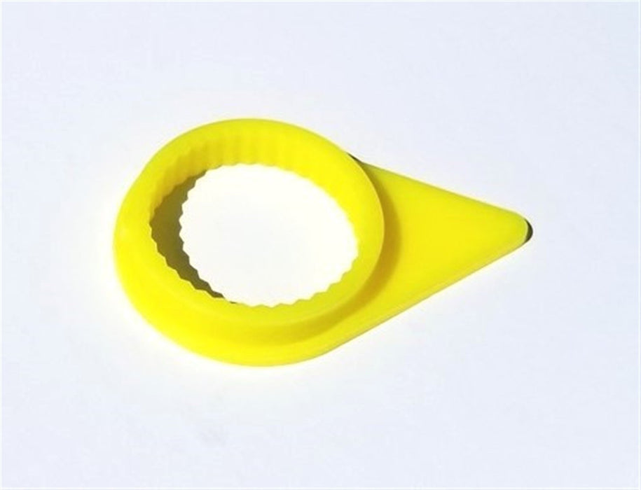 MVP 100 Pack Fluorescent Yellow Loose Wheel Lug Check Indicator for 22mm Nuts