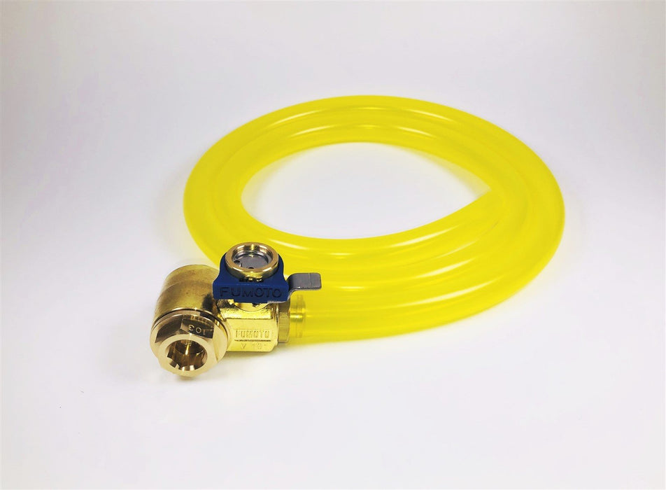 MVP HD Professional 3' Hose Kit for Fumoto S & SX Nipple Valves - 3/8""