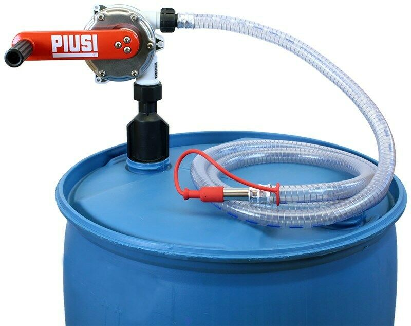 Piusi USA F00332A3 DEF Rotary Hand Pump with 9' Hose