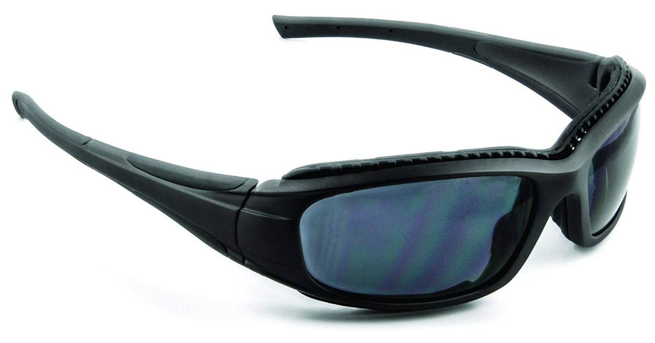 3M Safety Sunwear Glasses SS1511AF-B Black Frame Gray Polarized Anti-Fog Lens