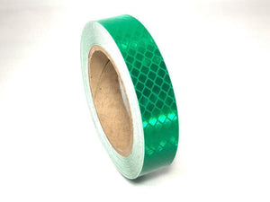"Orafol Green Reflective Tape 5900 Series 1"" x 150' Roll - Made in the USA"