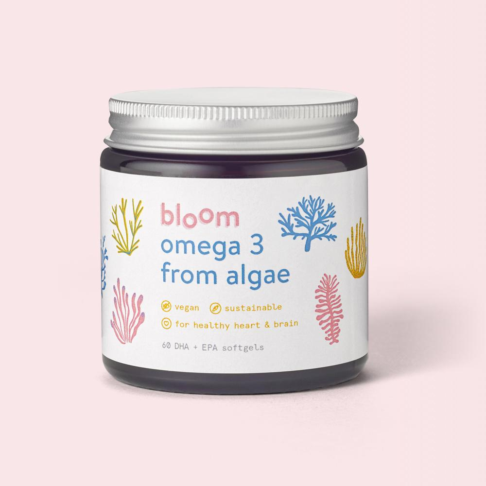 bloom omega 3 250mg DHA + EPA