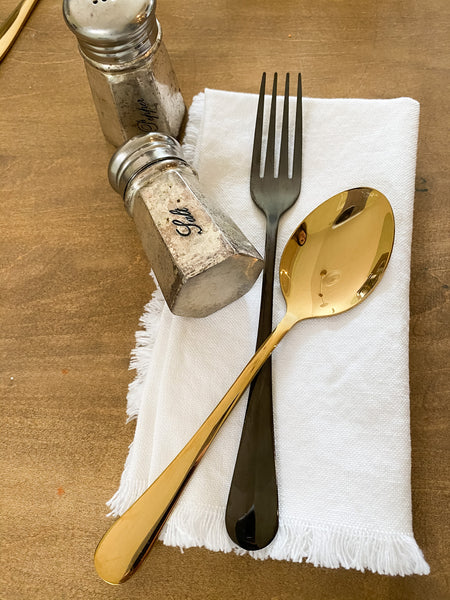 Gold Silverware Set