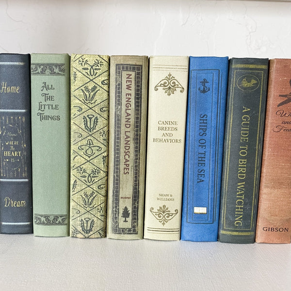 Vintage Inspired Book Storage Boxes