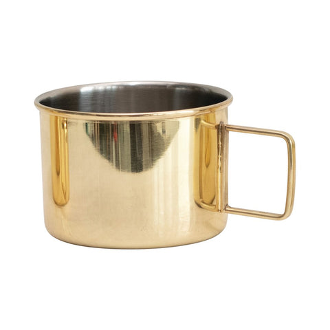 Gold Stainless Steel Mug