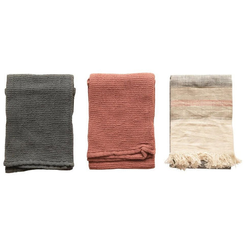 Set of 3 Turkish Tea Towels