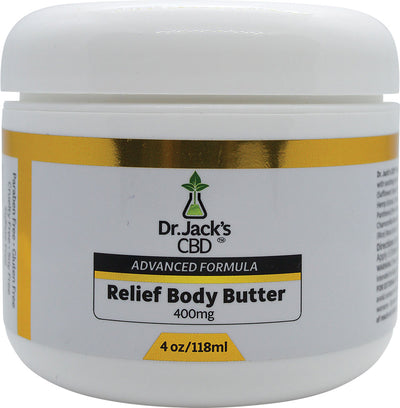 Dr. Jack's CBD Relief Body Butter