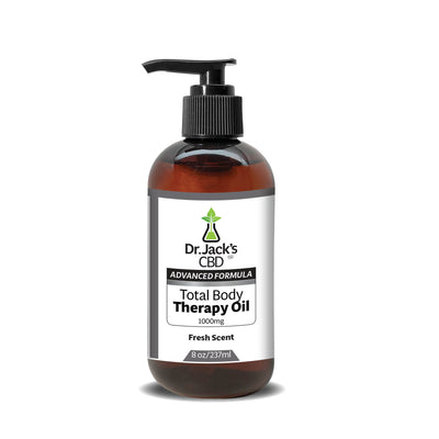 Dr. Jack's CBD Total Body Therapy Oil