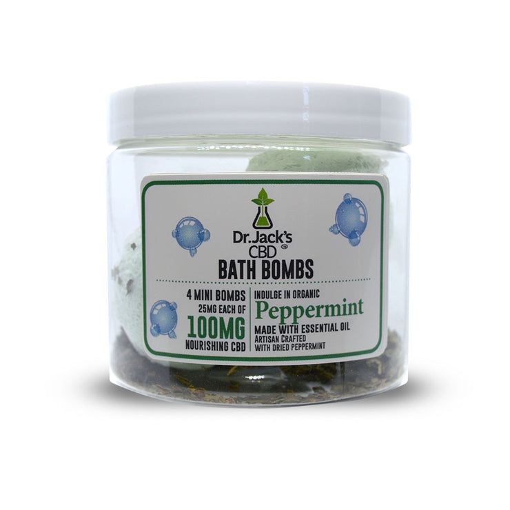 CBD Bath Bombs- 4 Pack