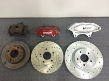 Load image into Gallery viewer, 240sx Big Brake Kit Bracket S13 CTSV CTS-V Calipers Nissan