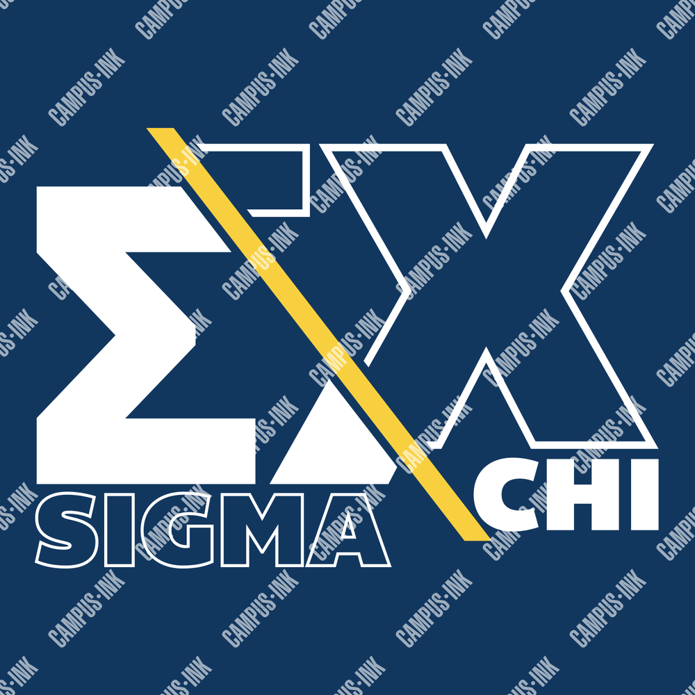Sigma Chi Offset Letter Design - Sigma Chi Fraternity