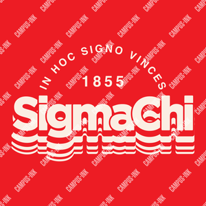Sigma Chi Layered Text Design - Sigma Chi Fraternity