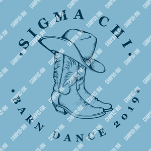 Sigma Chi Cowboy Boots Design - Sigma Chi Fraternity