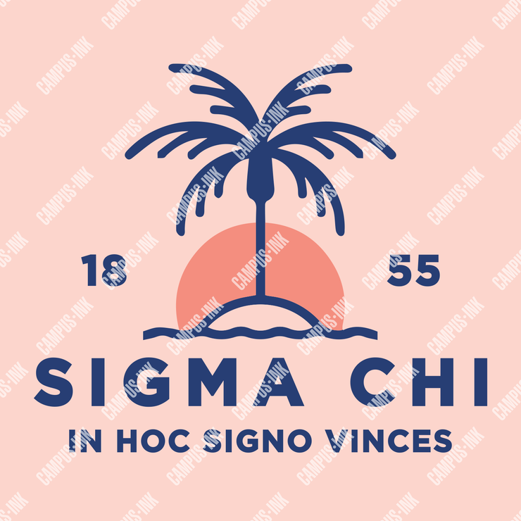 Sigma Chi Sunset Design - Sigma Chi Fraternity