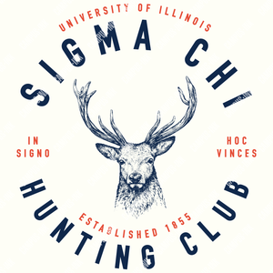 Sigma Chi Hunting Club Deer Design - Sigma Chi Fraternity