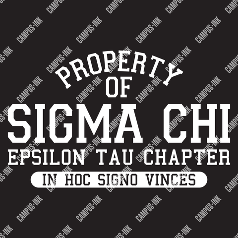 Sigma Chi Property Of Design - Sigma Chi Fraternity